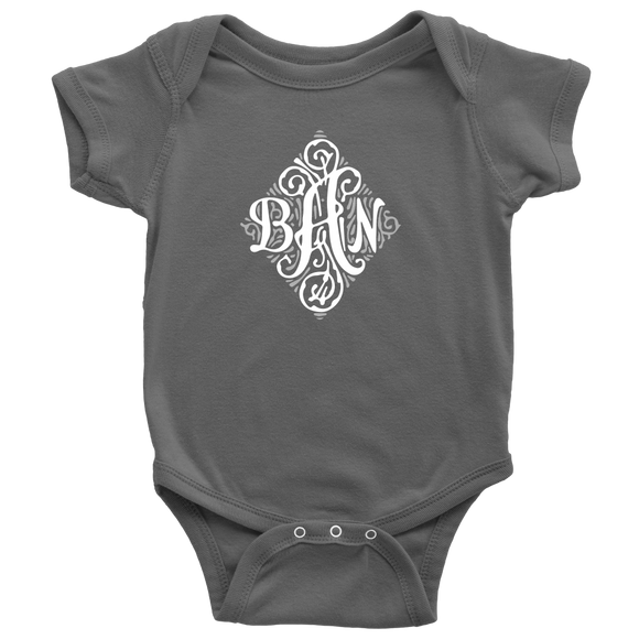Custom Order Monogram Shirts for infants, babies , toddlers