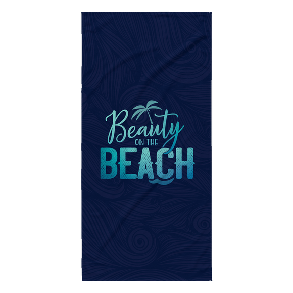 Beauty On The Beach –Beach Towel