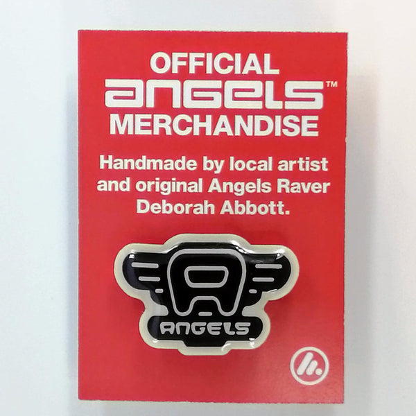 Official Angels pin badge -BACK IN STOCK