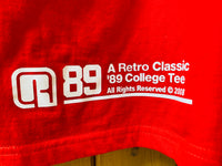 Retro original college tee as seen on Retro Live Sessions