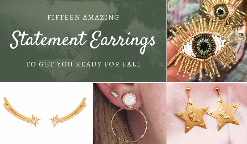 Shop Our Top Fifteen Earrings for Fall — Cause your Wardrobe isn't the only thing that needs updating!