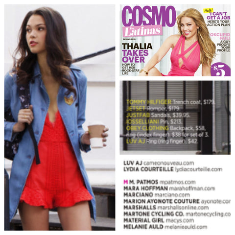 Cameo Nouveau + Luv AJ in March Cosmo Latina
