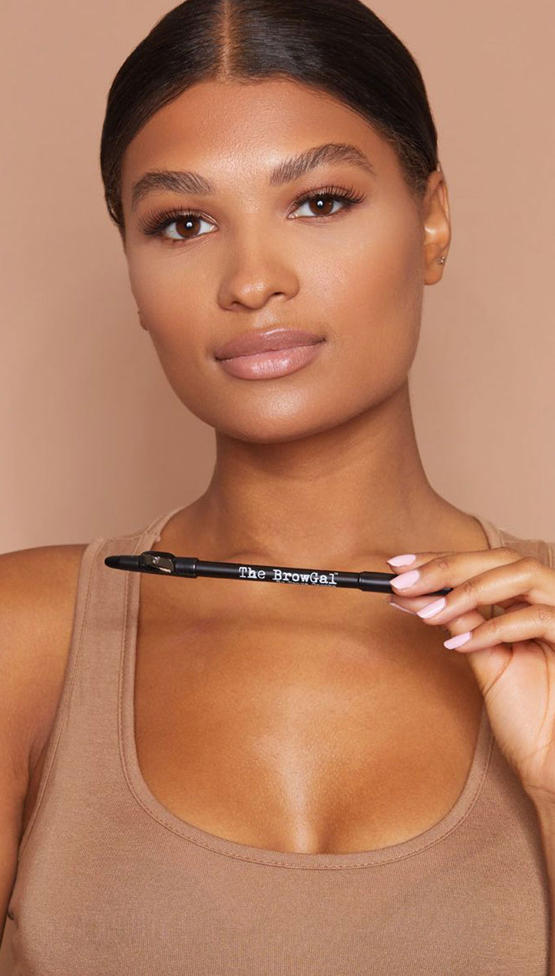 The BrowGal Brow Skinny Pencil | Medium Brown
