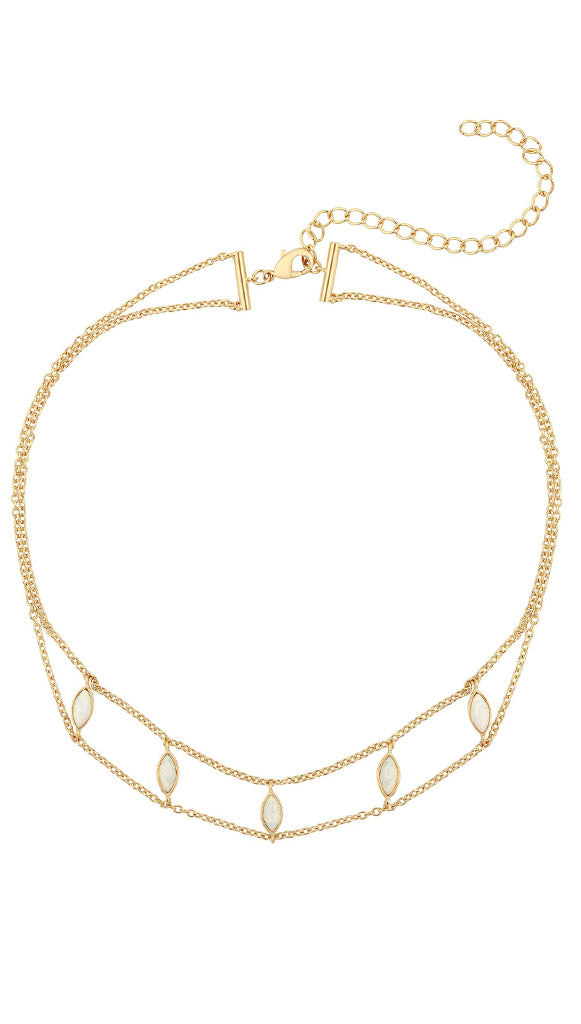 Five and Two Joie choker necklace