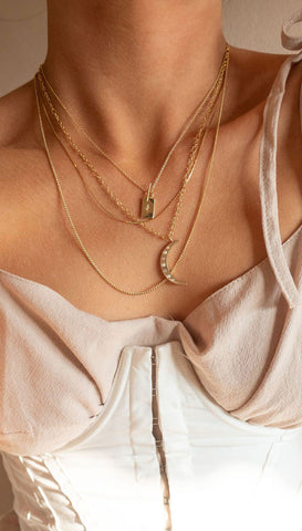 Morse Code Brave Necklace | Lucky Feather