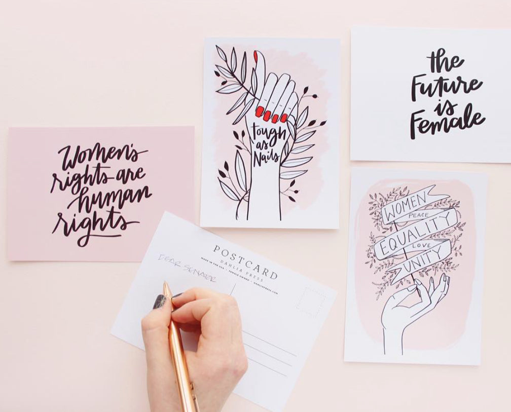 Feminist Post Card Set