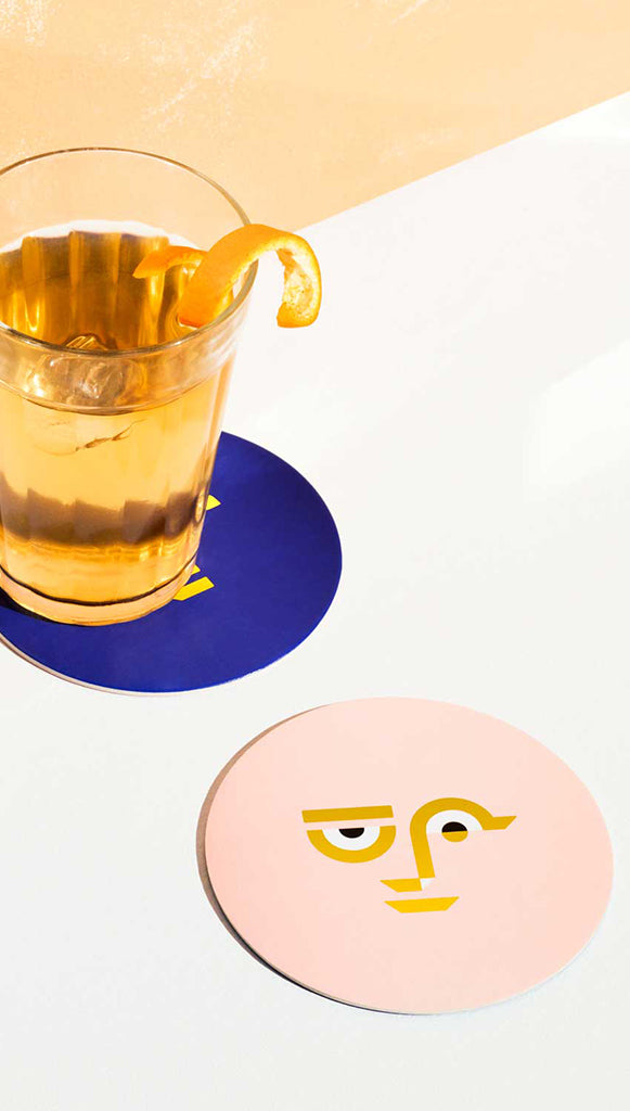 Apollo Paper Drink Coasters by Octaevo