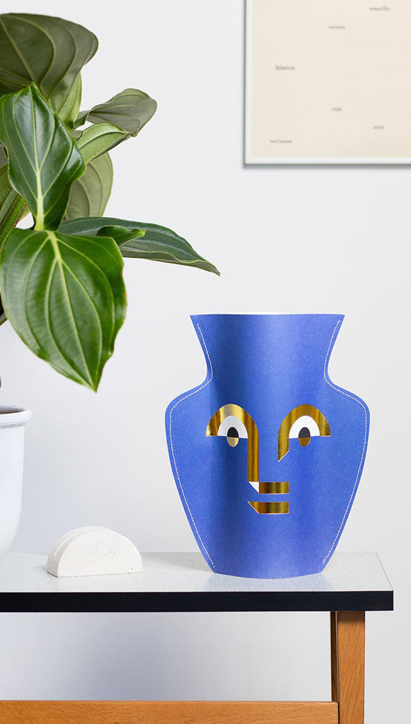 APOLLO Paper Flower Vase