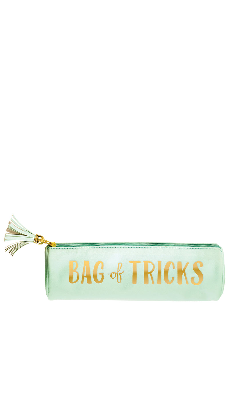 Bag of Tricks Makeup Vegan Leather Bag