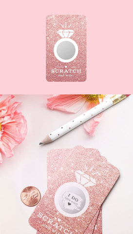 Rose Gold and Blush Party Fans