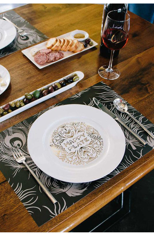 'Happy Plate' Dinner Plate