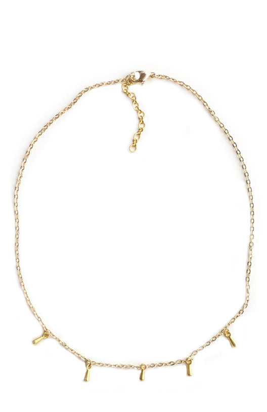five and two wella choker necklace