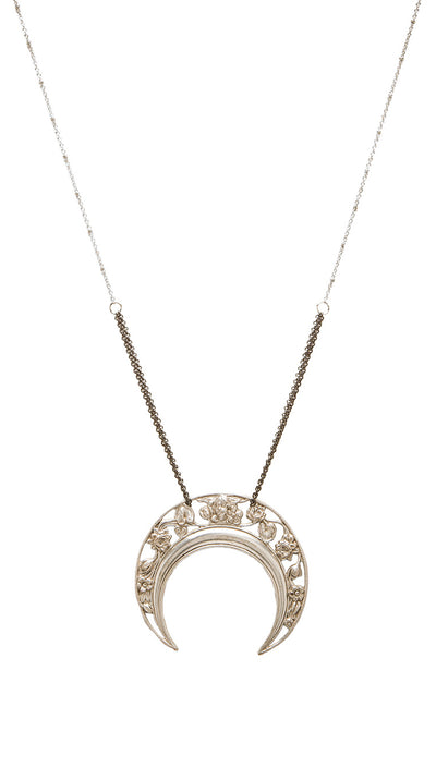 Five and Two Gwen Moon Necklace