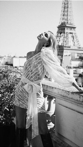 For Love and Lemons Dolly Mini Dress