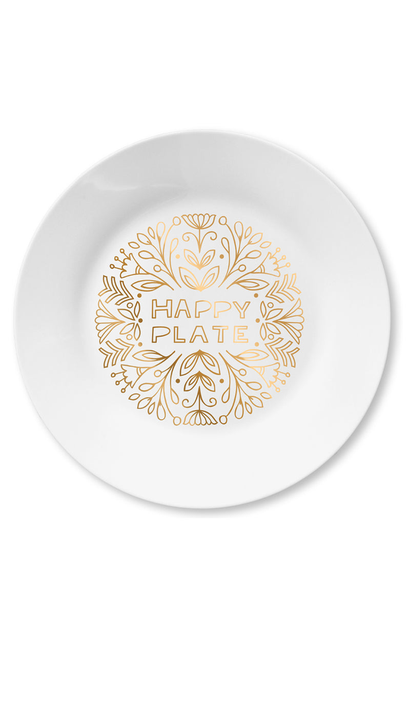 Happy Plate Easy Tiger