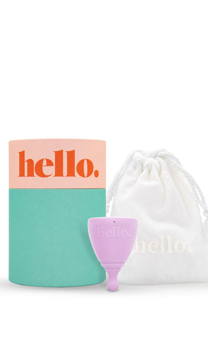 Hello. Menstrual Cup |  XS Lilac