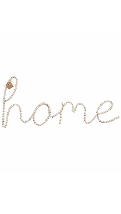 Beaded HOME Wall Art | Mud Pie