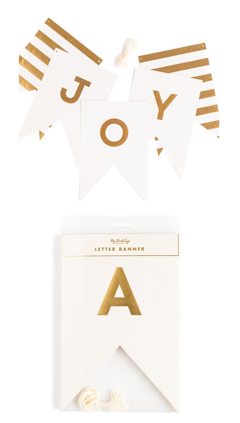 Fancy Letter Bunting Flag Banner