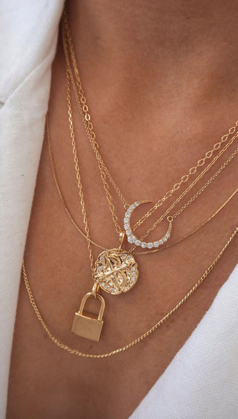 Olympia Necklace | Five and Two Jewelry
