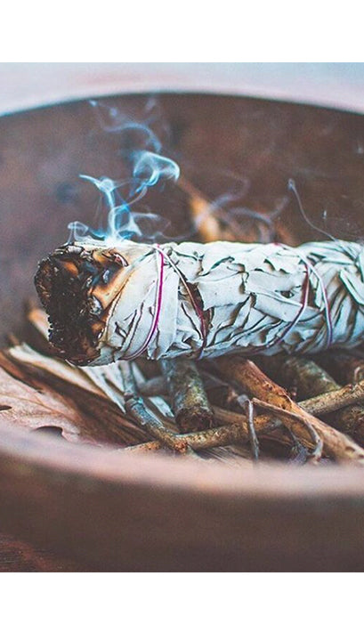 White Sage & Lavender Large Smudge Stick