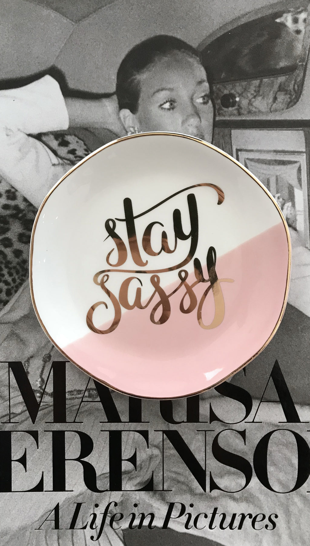 Stay Sassy Trinket Tray