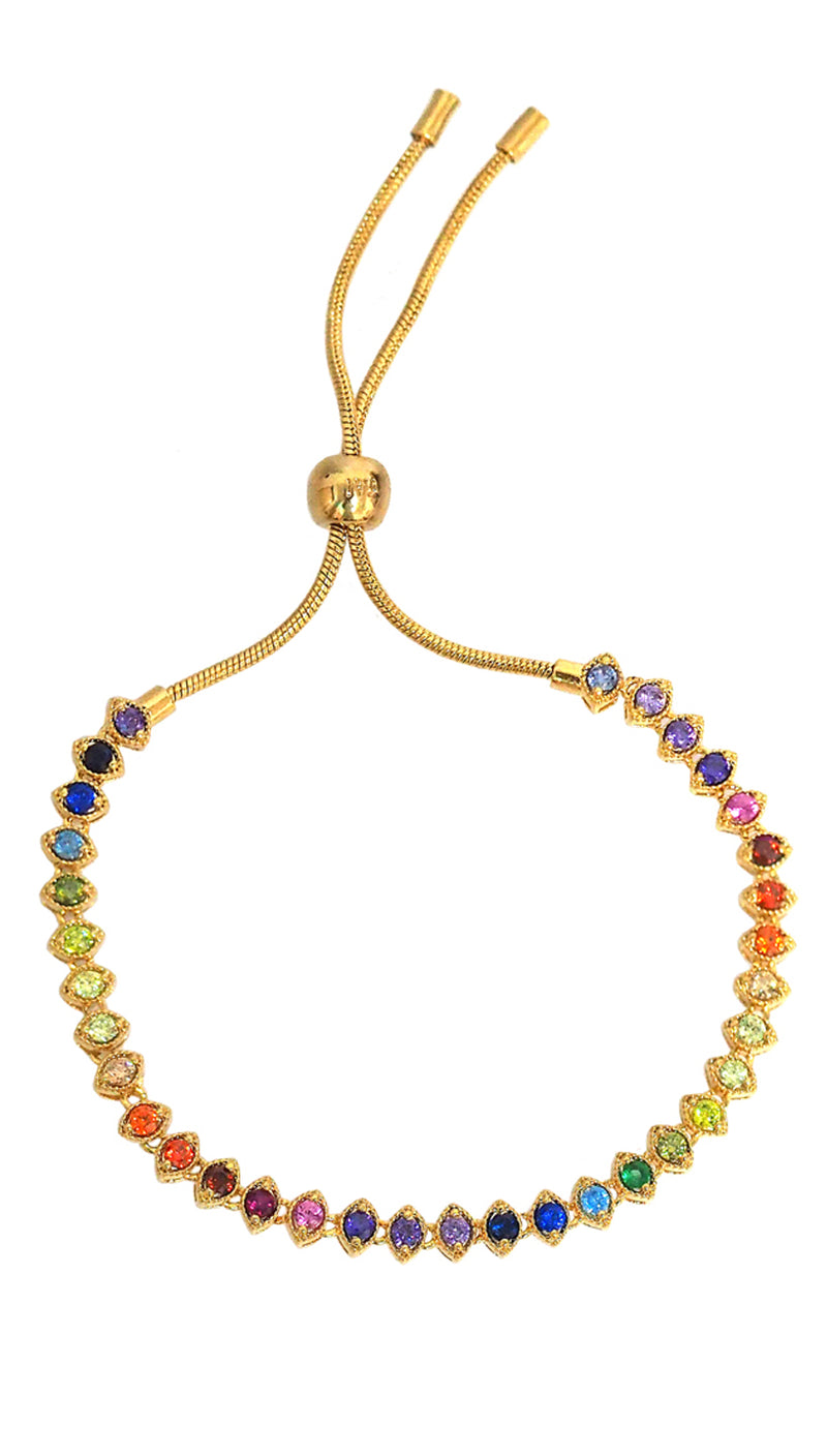 Rainbow Adjustable Bracelet Tai Jewelry