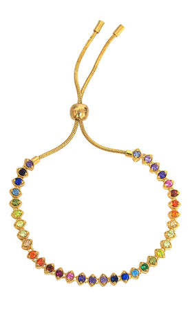 🌈 Small Rainbow Necklace Tai Jewelry