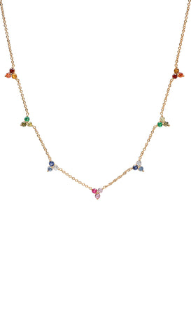 Lotta Love Stars Necklace by Frasier Sterling