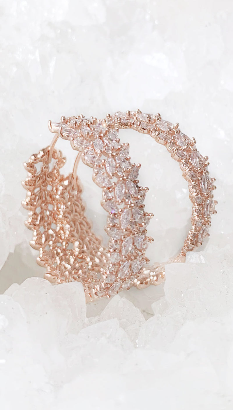 Theia Jewelry Andromeda Hoop Hoop Earrings