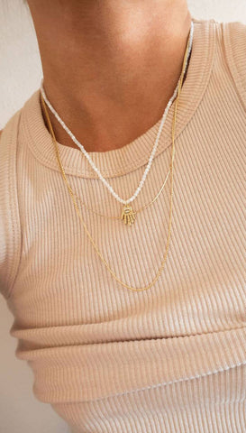 Morse Code Loved Necklace | Lucky Feather