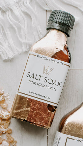 WINTON & WAITS LARGE SALT SOAK
