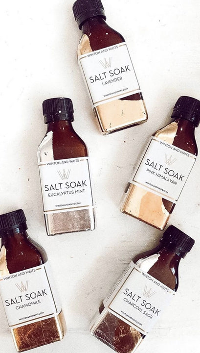 WINTON & WAITS SMALL SALT SOAK