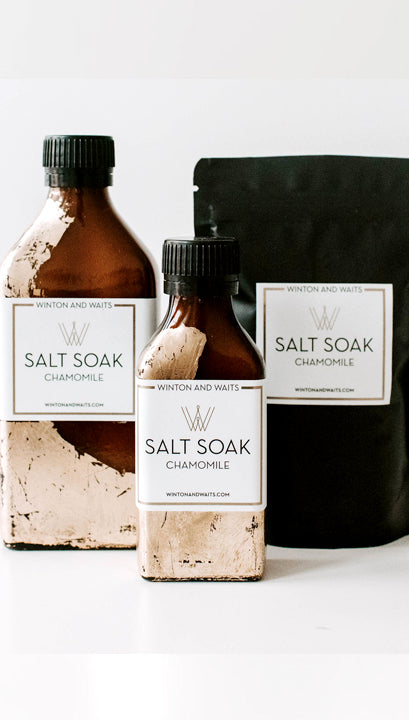 WINTON & WAITS TRAVEL SALT SOAK