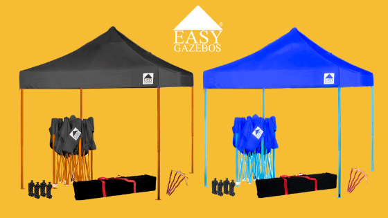 Make your pop up gazebo stand out with exclusive new colours