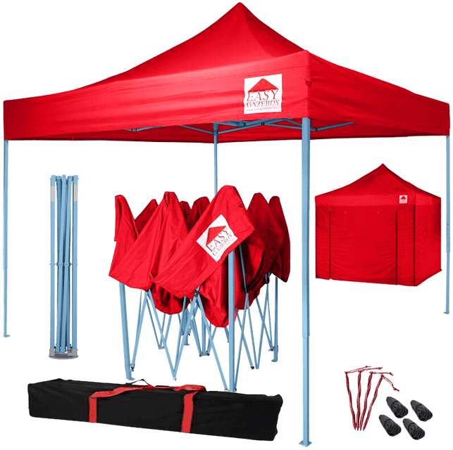 Pop-Up Gazebo with Sides (3x3m)