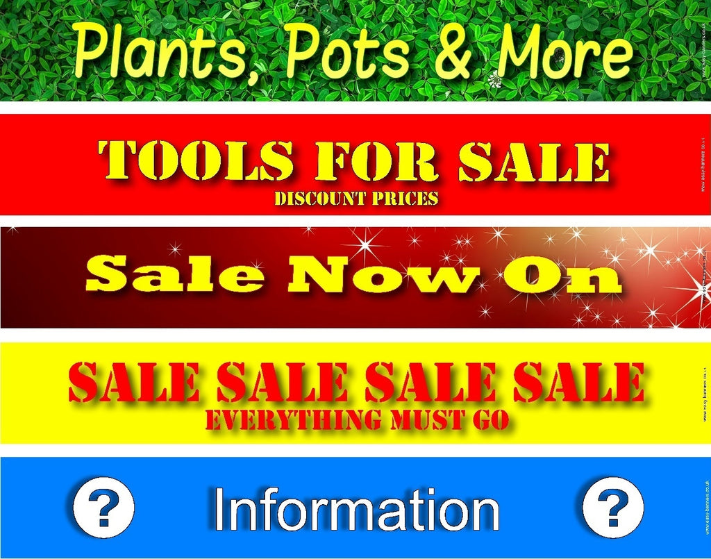 Souvenirs / Tools For Sale / Plants, Pots & More / Sale Now On / Sale / Information