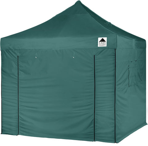 3x3m Green Pop-Up Gazebo with Sides