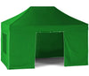 Green Easy Pop-Up Gazebo with Sides 3x4.5m by EasyGazebos®