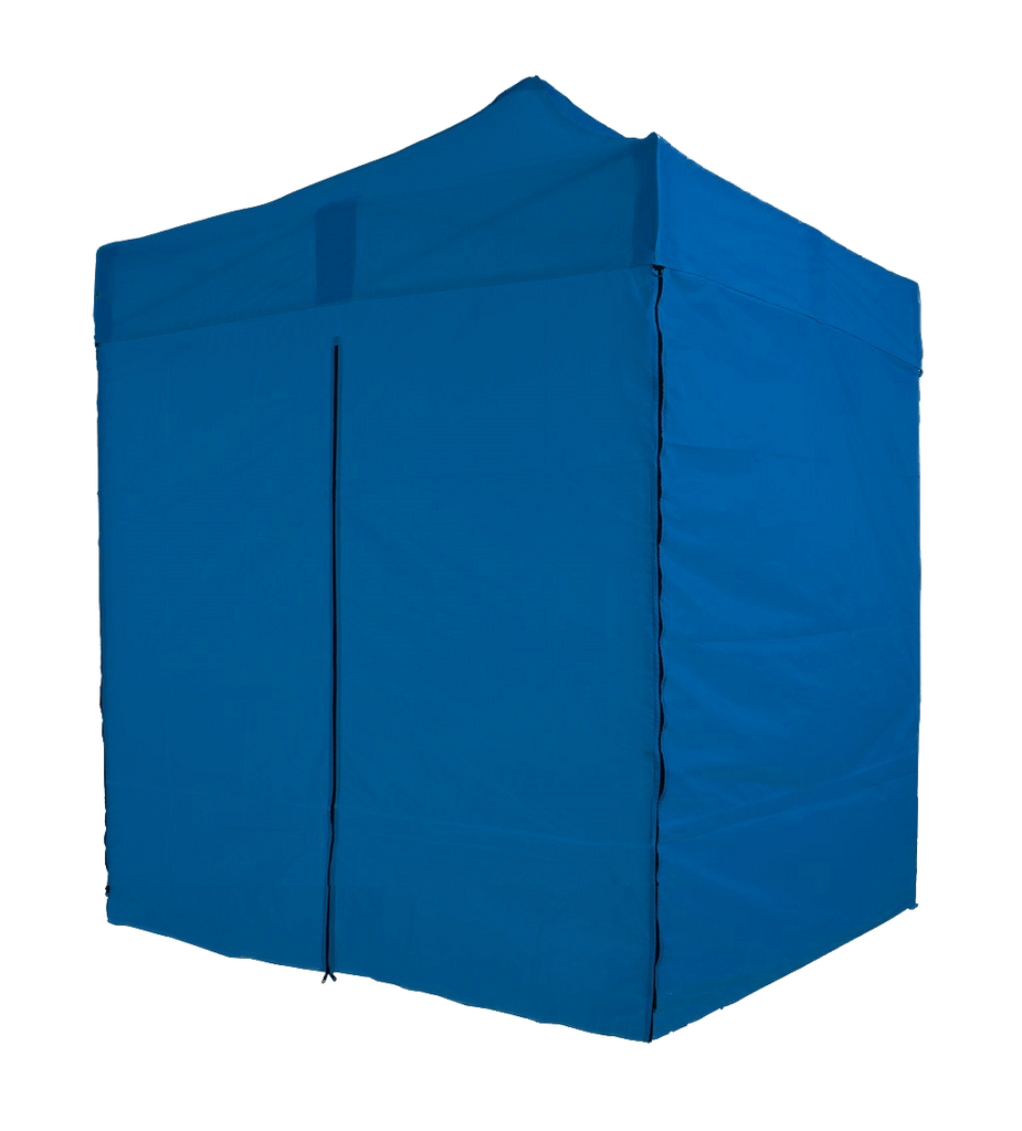 2x2m-Blue-Bramble T2P - Pop-Up Gazebo with Sides [2x2/3x3m]-EasyGazebos® Original