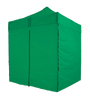 2x2m-Green-Bramble T2P - Pop-Up Gazebo with Sides [2x2/3x3m]-EasyGazebos® Original