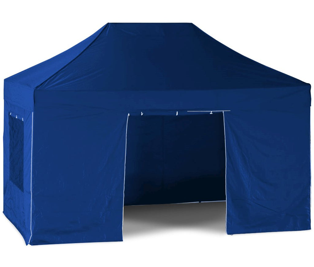 EasyGazebos® Timanfaya HD Pro [3x4.5m] Folding Gazebo with Sides