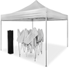 White Pop-Up Gazebo - Waterproof with Sides [3x3m]