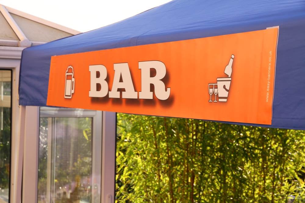 Bar Sign (Rollup Banner)