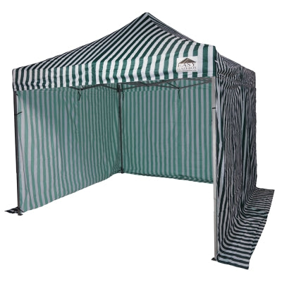 Striped Gazebo with Sides