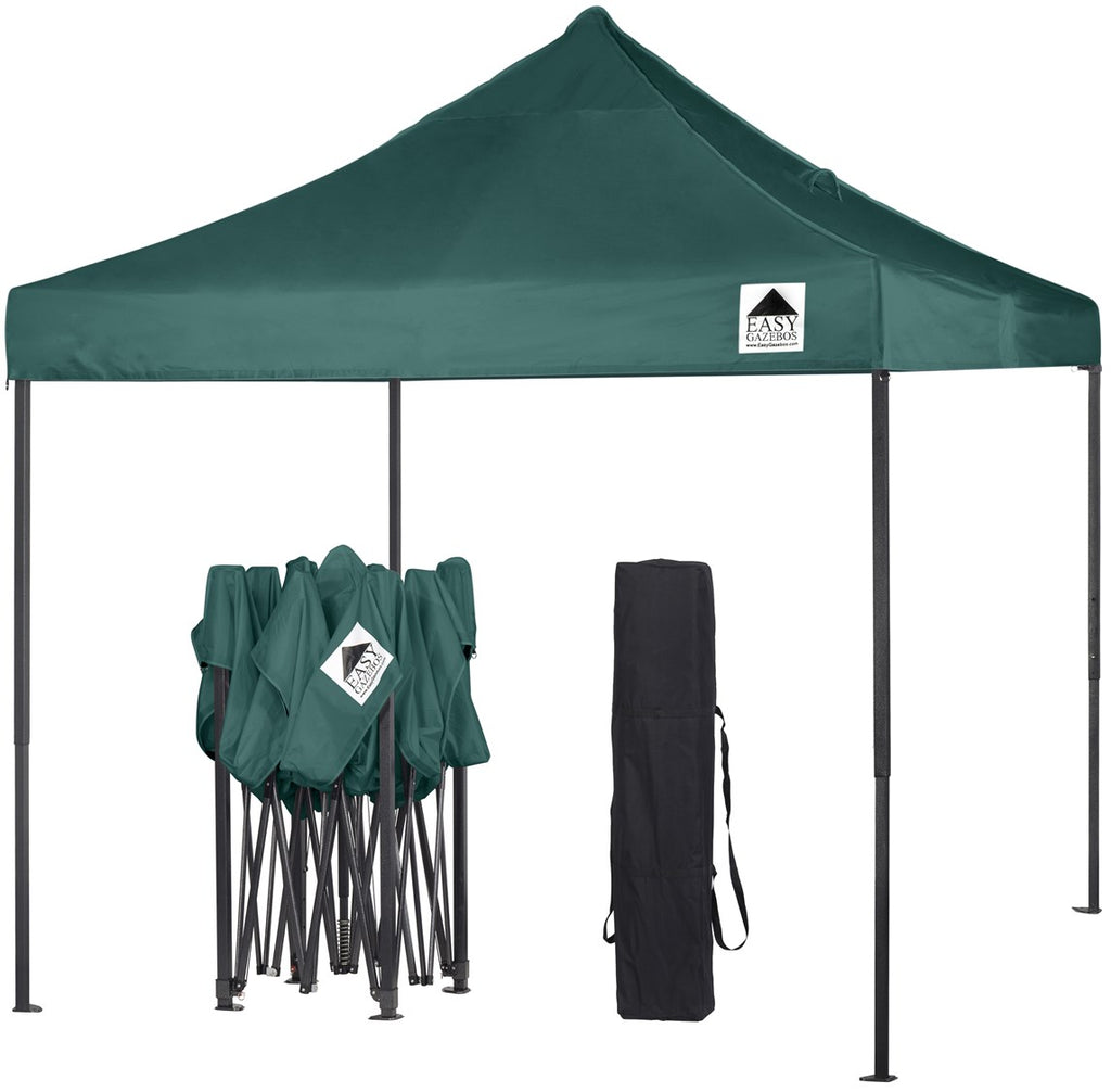 Green Pop-Up Gazebo 3x3m