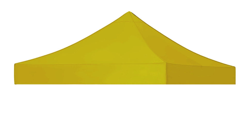 -EasyGazebos® Carnival T7 (Canopy only) [3x3m]-YellowC-T7-C-YEL