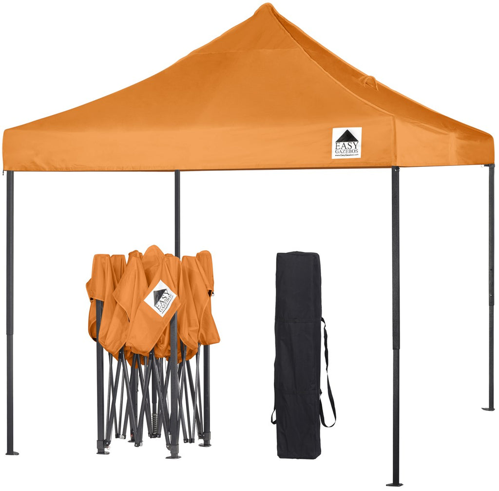 Orange Pop-Up Gazebo 3x3m
