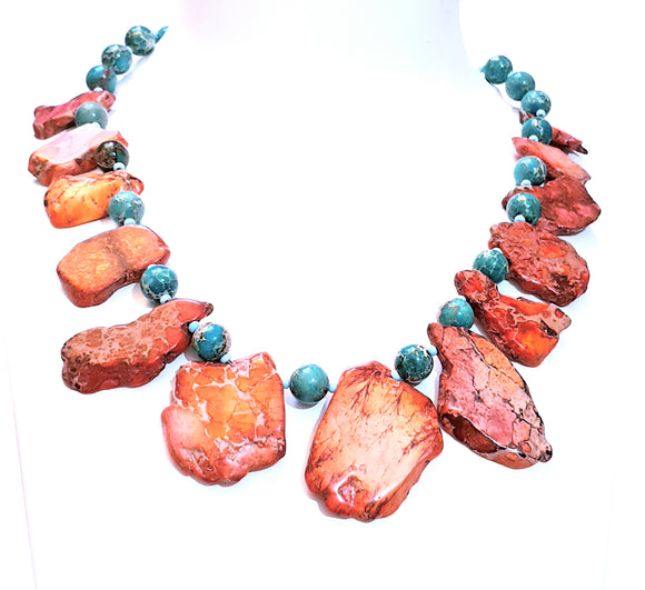 Beautiful Imperial Jasper Neck Piece