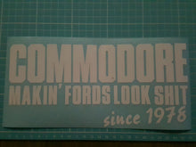 Commodore, Makin' Fords Look Shit Since 1978