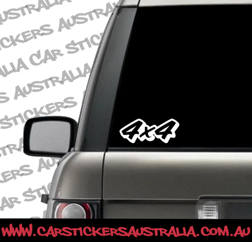 4x4 Car Stickers available with afterpay. Car decals for 4by4